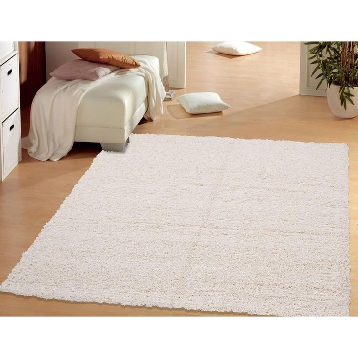 White Flokati Rug 5x7 Designs