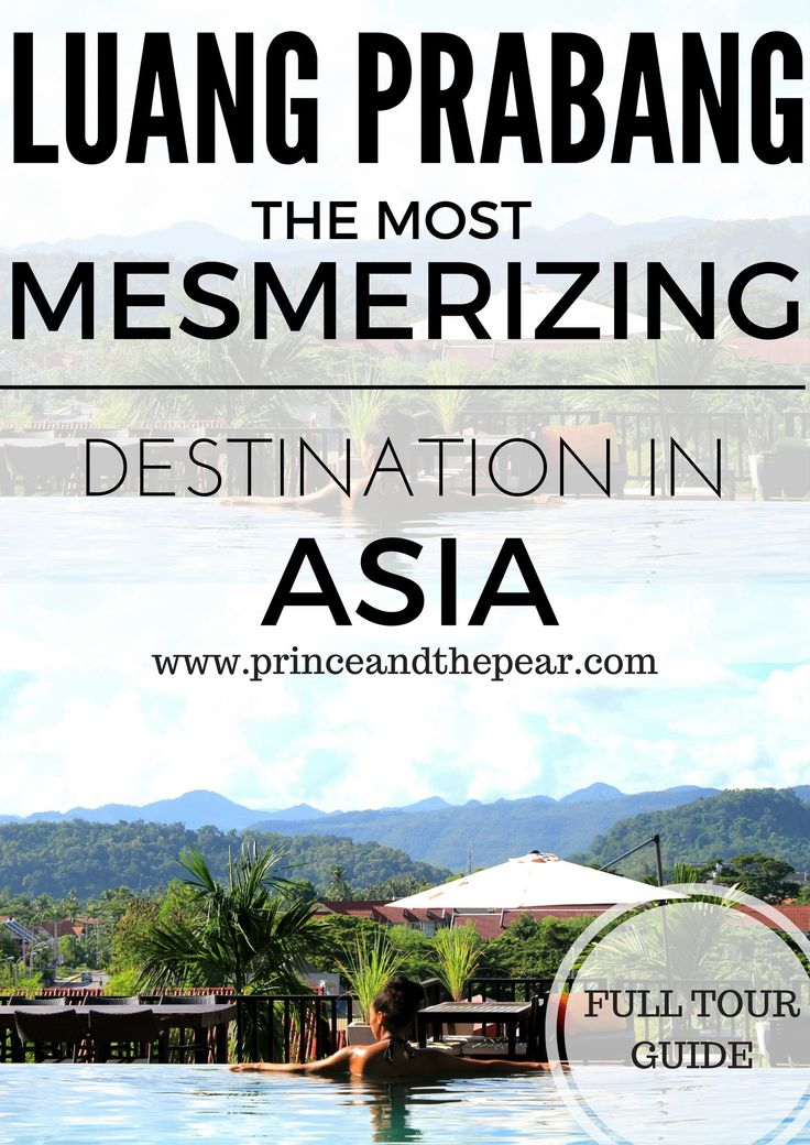Luang Prabang is one of the most magical and underrated places in Asia. Check out our full travel guide on where to stay, what to do & where to eat.