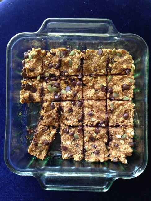 pumpkin granola bars! | FoOooD | Pinterest