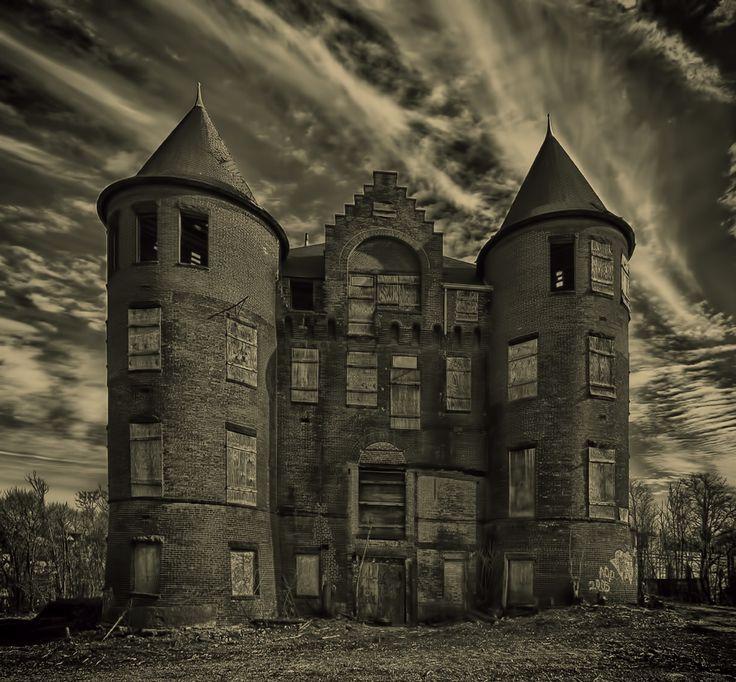 The Samuel R. Smith Infirmary, the former Staten Island hospital. Staten Island,