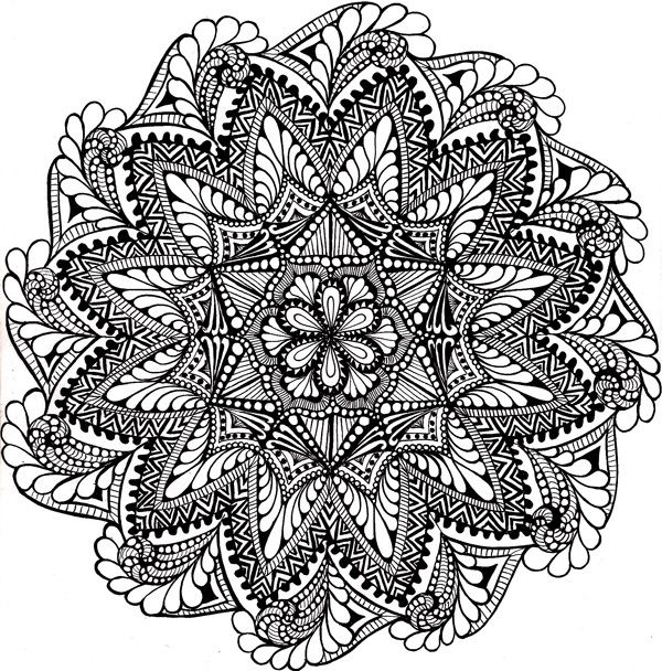 Zen Mandalas Coloring Book : 83 best zen mandalas images on pinterest