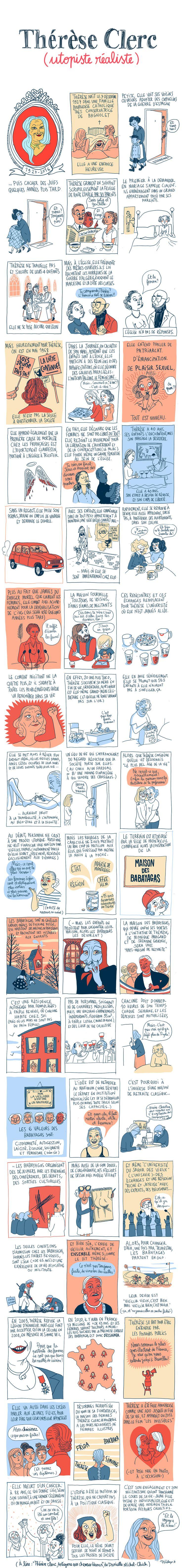 Pénélope Bagieu, les Culottées