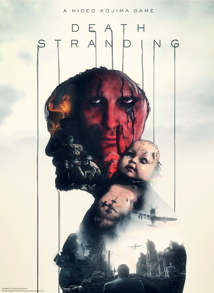 Death Stranding Poster - Fan Made [Artificial Photography] http://ift.tt/2gUZ91E