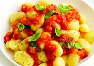 Gnocchis (plusieurs recettes) au Cooking Chef