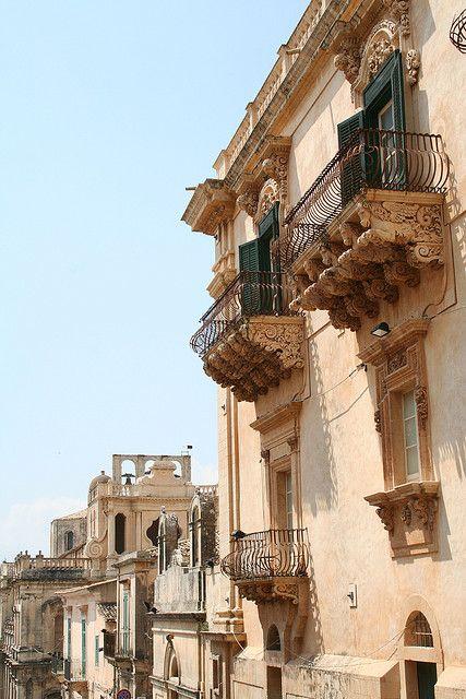Noto, Province of Syracuse , Sicily region Italy
