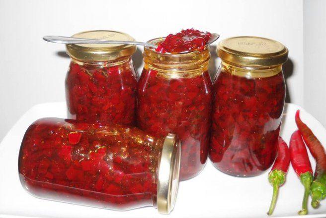 Retete Culinare - Dulceata de ardei iute