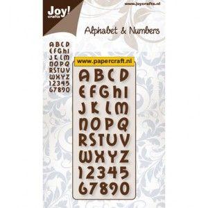 6002/0139 Alphabet & Numbers 1