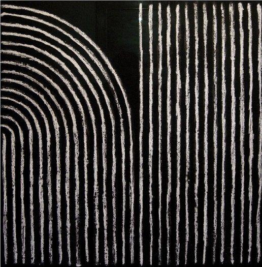 Richard Allen, Charcoal Painting, 1994
