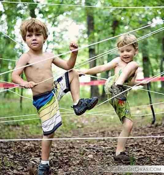 Дача для детей - 45 идей как сделать дачу интересной для ребенка |  #дача #дети #игры Интересно