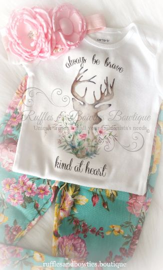 Always be Brave & Kind at Heart Boho Onesie/Shirt