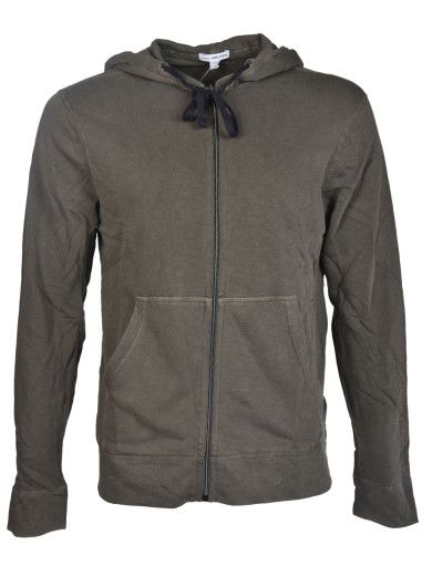 JAMES PERSE James Perse Cotton Hoodie. #jamesperse #cloth #fleeces-tracksuits