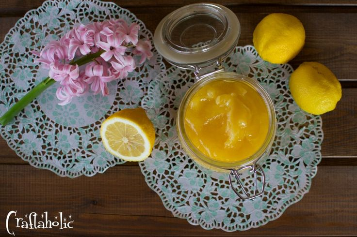 Δροσερή λεμονόκρεμα ή αλλιώς lemon curd - Craftaholic
