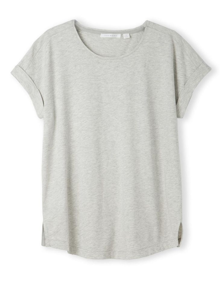 Pima Cotton Marle T-Shirt from trenery