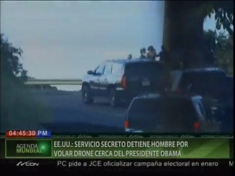EE.UU- Servicio Secreto Detiene Hombre Por Volar Drone Cerca Del Presidente Obama #Video