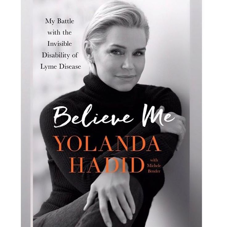 See the Cover for Yolanda Hadid's Book | The Daily Dish