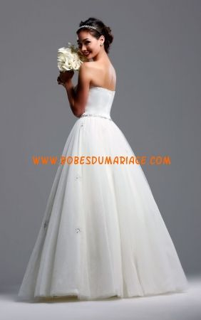 David Tutera by Faviana robe de mariée glamour longueur ras du sol organza Style B149 Sarah