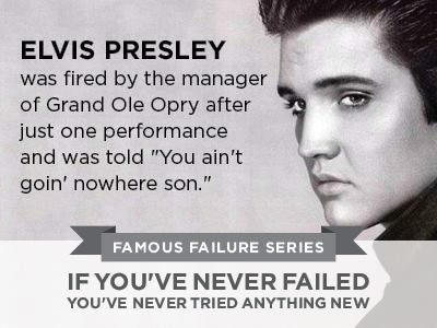 ELVIS PRESLEY Famous Failure