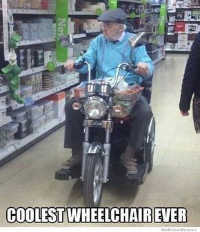 coolest wheelchair ever!