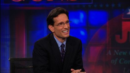 Exclusive - Eric Cantor Exteneded Interview Pt. 2   Eric Cantor thinks that corporate financing of the electoral process provides complete transparency in this complete, unedited interview.