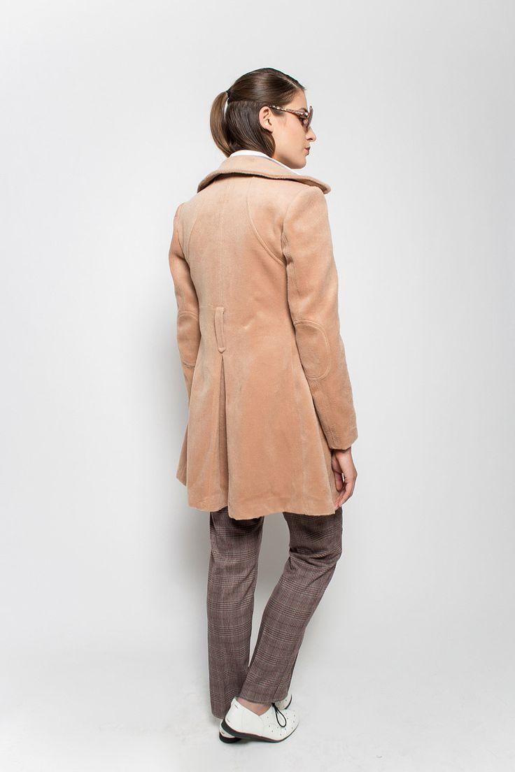 #lafemmemimi #fashion #prague #autumn #winter #2015 #lookbook #beige #coat