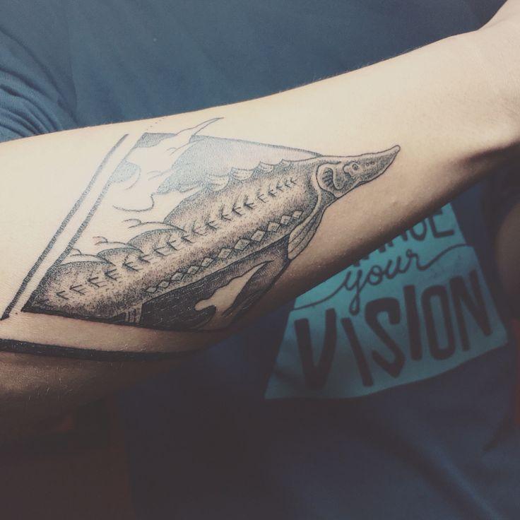 sturgeon arowana tattoo tattoo pinterest tattoo and tattoo designs. Black Bedroom Furniture Sets. Home Design Ideas