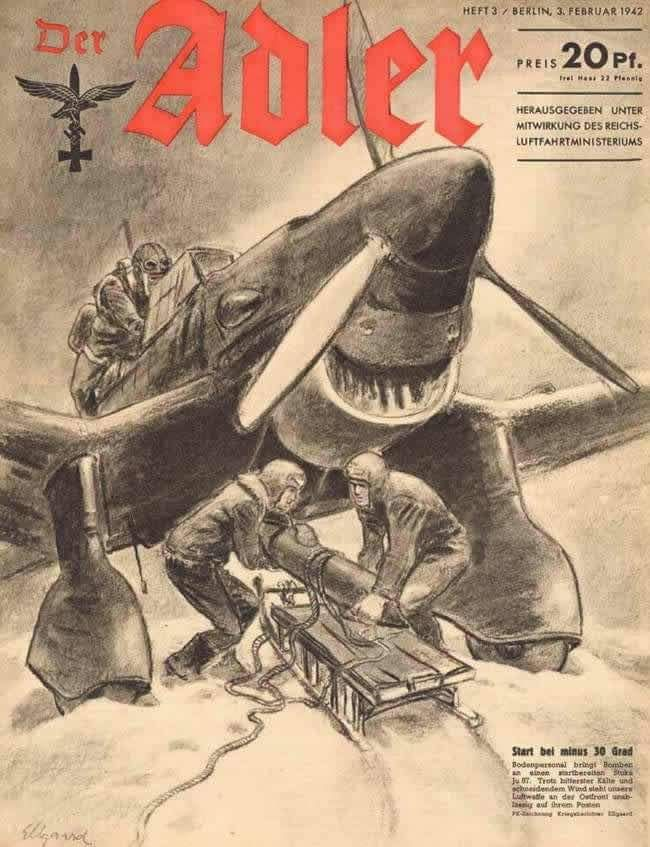 Revista Der Adler. 02.1942