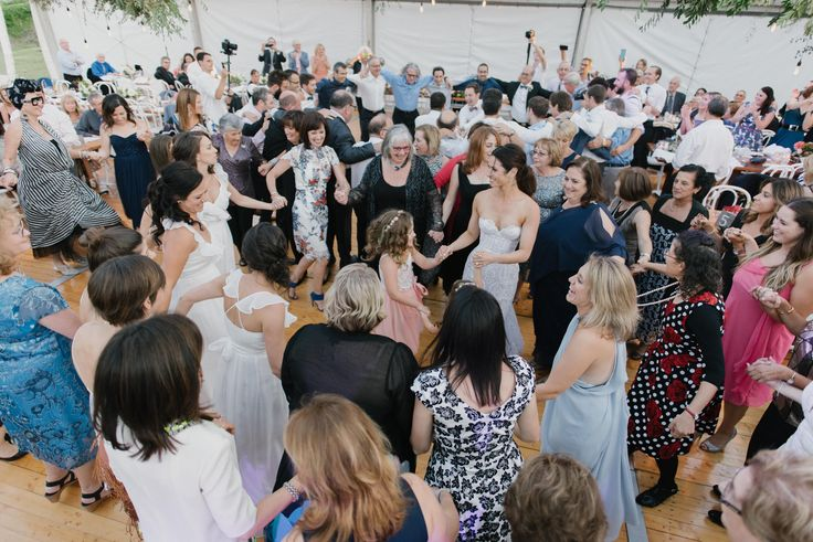 Dancing the Hora #celebrate #weddingtraditions