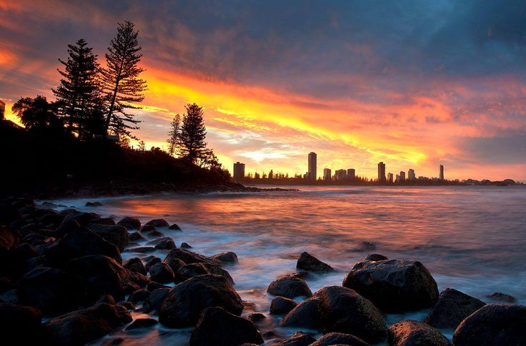 Burleigh Cove at it's best.  Photo by: Sean Scott Photography