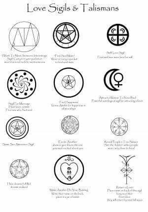 Love sigils & talismans