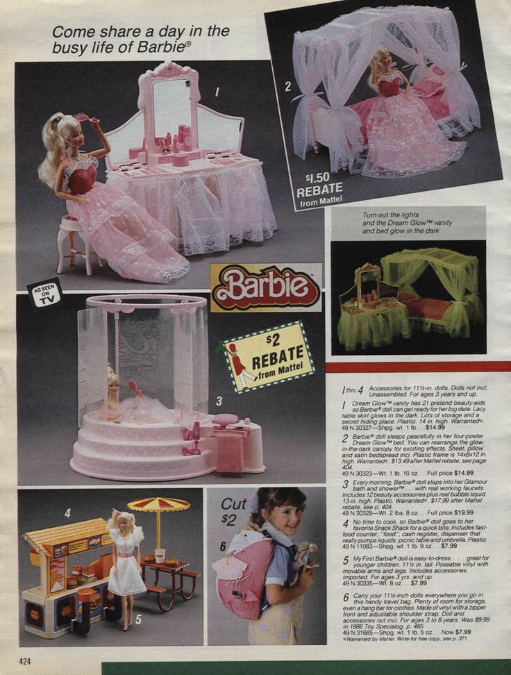 17 Best Images About Barbie In Catalogues On Pinterest