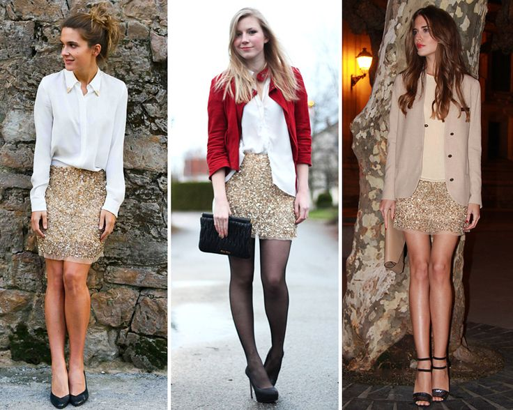 ZARA IS THE NEW BLACK - falda de lentejuelas doradas de zara 4