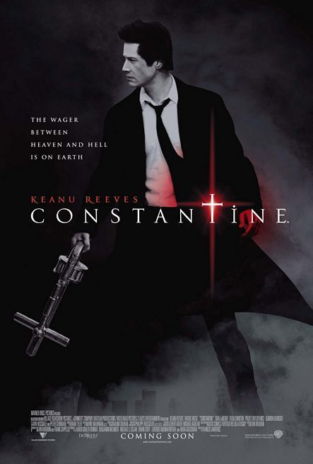 ConstantineMovie Posters, Alternative Actor, Constantin Movie, Comics Book, Constantin 2005, Francis Lawrence, Favorite Movie, Actor Film, Keanu Reeves