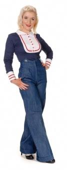 I can't help but love high-waisted jeans like these wonderful Marlene Denim Trousers.