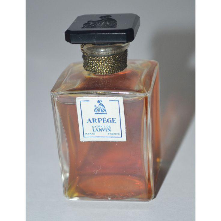 Vintage Arpege Perfume Extrait By Lanvin