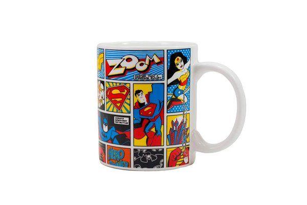 CANECA MULHER MARAVILHA BATMAN SUPERMAN