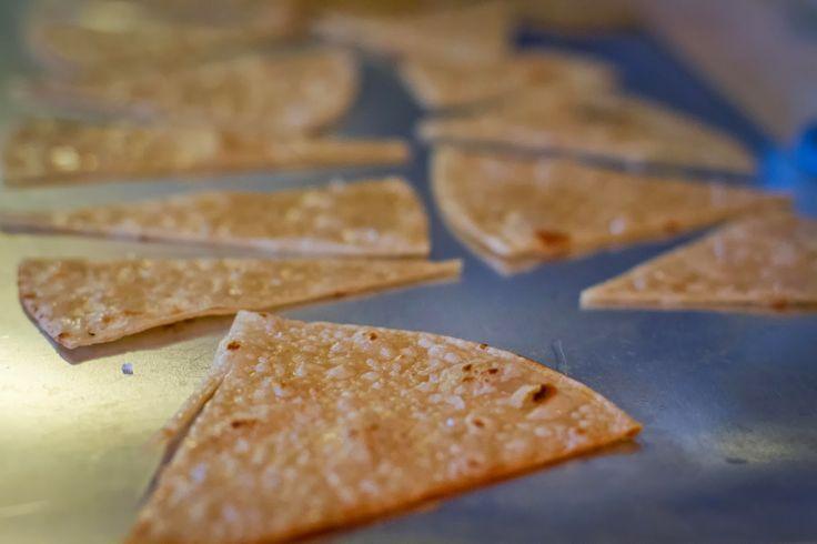 baked tortilla chips | healthy inspiration | Pinterest