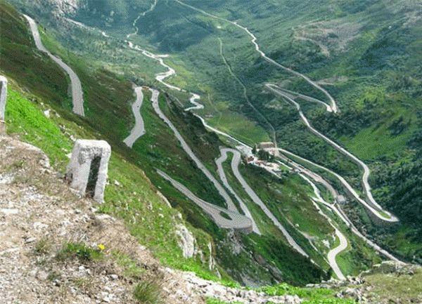 Hanselma Highway in Cordillera Region, Philippines