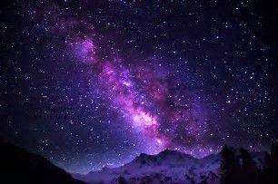 Resultado de imagem para Beautiful pink Starry Night