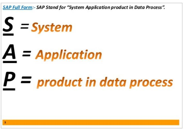 what is sap technology course Importance and ERP system now