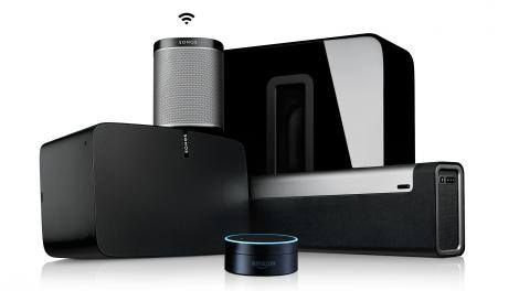 Sonos gains Spotify Connect powers Amazon Echo support coming soon -> http://www.techradar.com/1327431  Sonos makers of the internet connected speakers is opening up its platform to Spotify and Amazon.   Today Sonos announced you'll finally be able to control your tunes directly in the Spotify app. You can still use the Sonos app to control your tunes of course but having playback support inside the Spotify app makes it easy for your friends and family to take turns DJing. Let's be honest no…