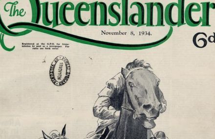 Queensland State Library: Illustrated cover from The Queenslander, November 8, 1934, Image number: 702692-19341108-s001b  NB: Can't find the link but they have 100's of these covers and you can ask for them to be printed. I LOVE these