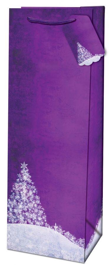 Dárková taška na láhev - Winter Wondeland č. 215509 TB