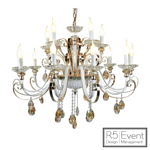 Windsor Crystal Chandelier- available for rent from R5 Event Design!