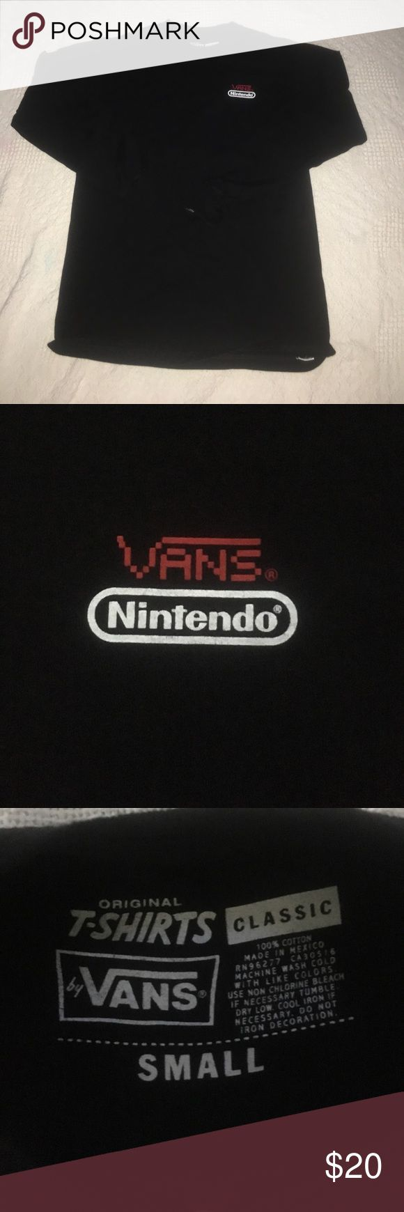 Vans limited edition Nintendo means long sleeve T Vans limited edition Nintendo long sleeve shirt for men Vans Shirts Tees - Long Sleeve