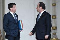 La popularité de François Hollande recule encore celle de Valls monte