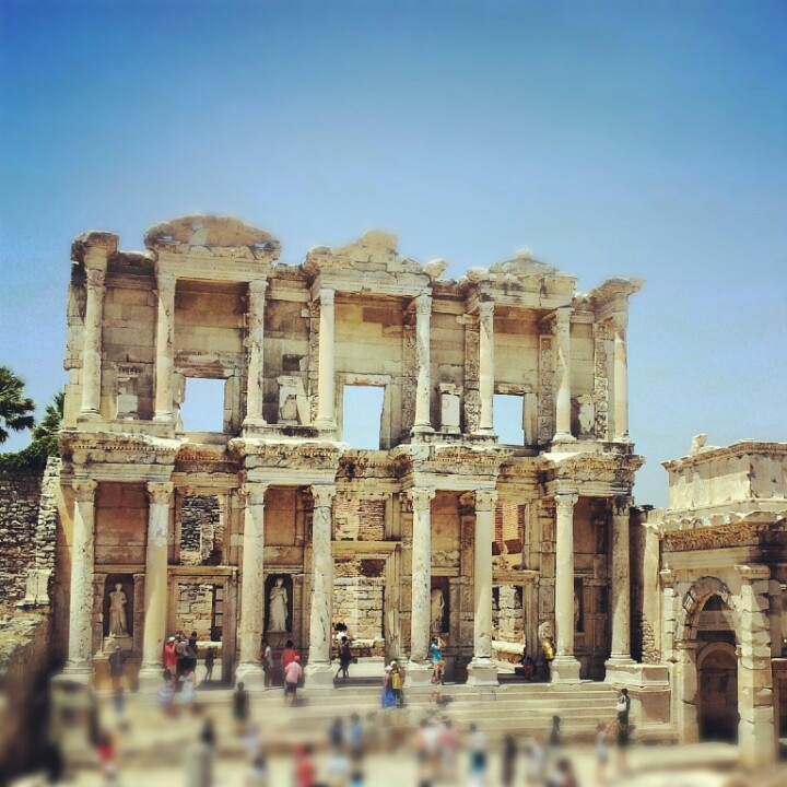 Homer library. Ephesus. Turkey