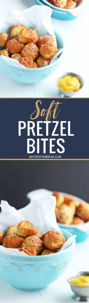 Homemade Soft Pretzel Bites - Perfect little bite-sized pretzel are the perfect snack for the BIG game. Great for parties, platters and snacking with the kids. Dipped in mustard or cheese these are unbelievably good! #gameday #snacks #homemade #dough #pretzels #softpretzels #superbowl #superbowlparty