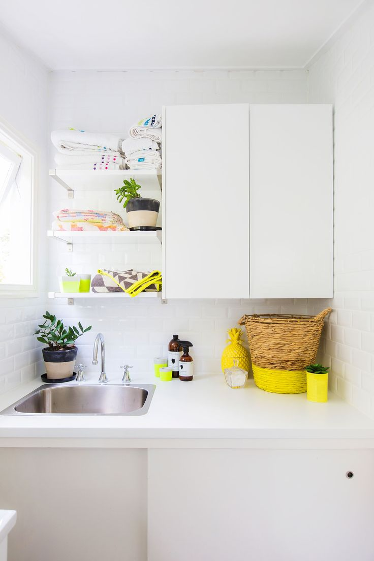 Brisbane laundry renovations laundry design ideas ine bathrooms - Laundry From Colourful And Quirky Queenslander Home In Brisbane Photography Elouise Van Riet