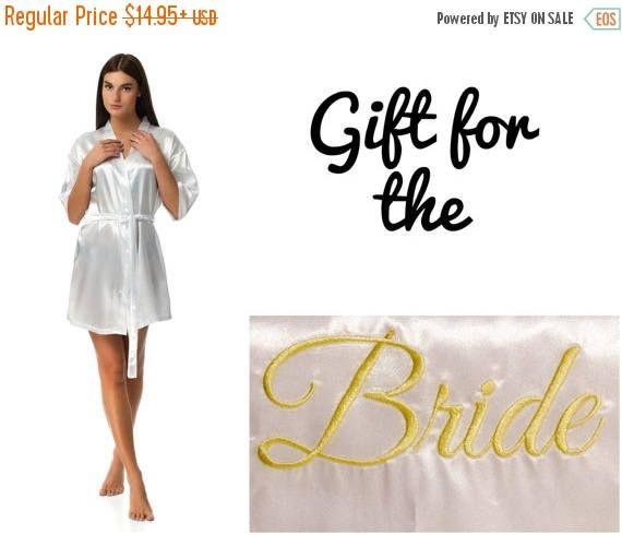 EN venta novia batas, batas de Dama de honor, trajes de novia fiesta, baratos trajes para damas de honor, trajes de Dama de honor, raso batas, albornoces personalizados, Mo