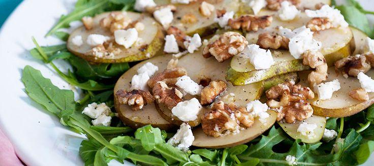 En lyxig sallad med mycket smak som förgyller vilken middag som helst! Passar som tillbehör till exempelvis grillad quorn eller kycklinfilé. Den är också en favorit på buffébordet.